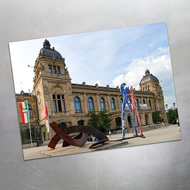 125 years KNIPEX: sculpture in front of the Wuppertal town hall